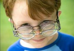Glasses at early age