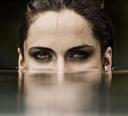 Remove your contacts before swimming