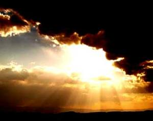 Light through the clouds