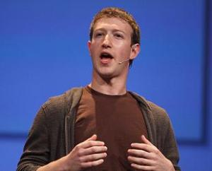 Famous People Who Are Color blind: Mark Zuckerberg