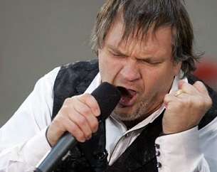 Celebrities With Color Blindness: Meat Loaf