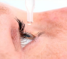 Numbing eye drop