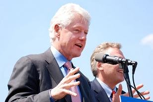 Famous People Who Are Color blind: Bill Clinton