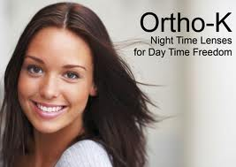 Ortho-K Advertisement