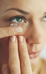 Contact lenses may become uncomfortable